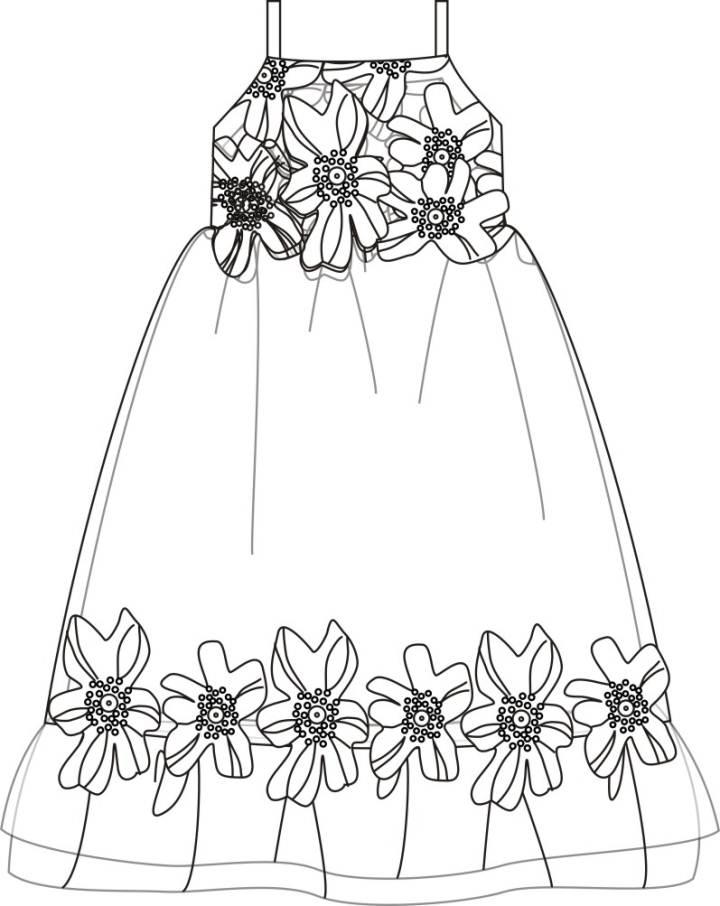 我的小公主-童装设计-服装设计