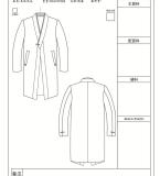 中式长袖男风衣