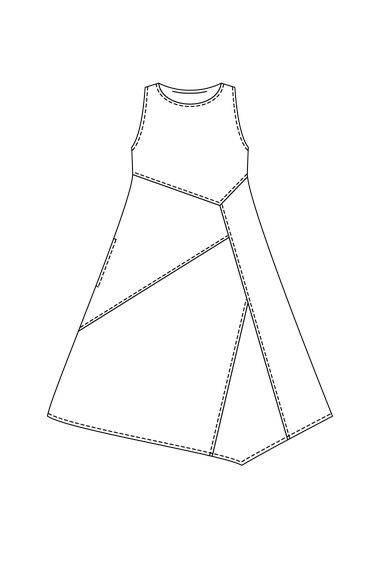 裙子效果图手绘