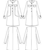 女式大衣款式图
