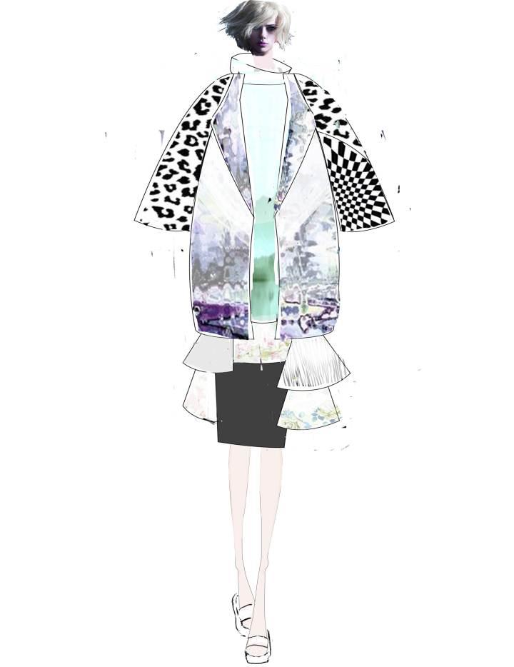 电脑绘图3-女装设计-服装设计