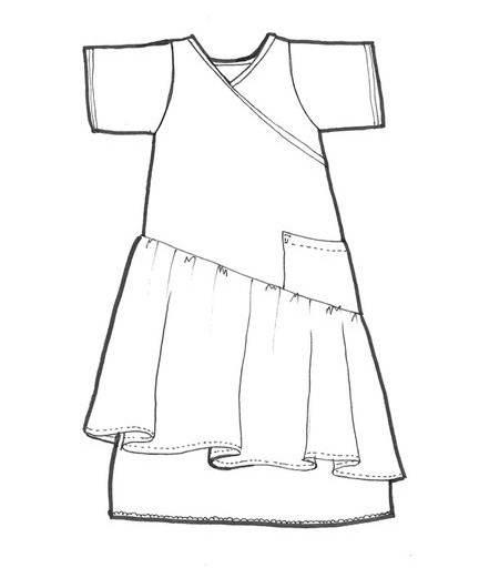 连衣裙子-童装设计-服装设计