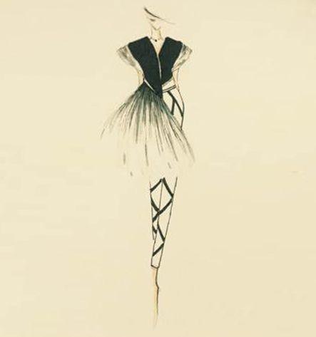 黑天鹅-女装设计-服装设计