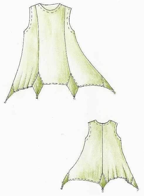手绘连衣裙
