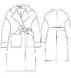 呢大衣8.9款式图