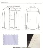 8男士时尚长袖衬衫款式图