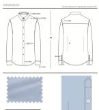 7男士正装类时尚长袖衬衫款式图