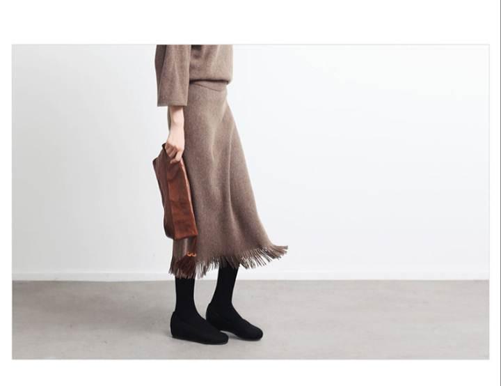 羊绒毛衣加工厂|女式针织毛衣|手工羊绒衣作品-羊绒毛衣加工厂|女式针织毛衣|手工羊绒衣款式图
