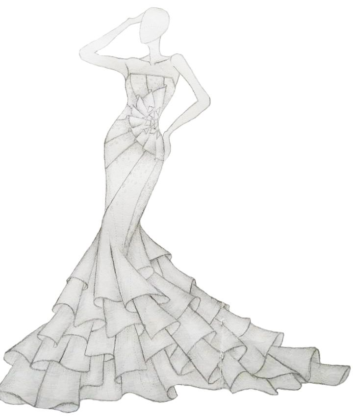 婚纱-婚纱礼服设计-服装设计