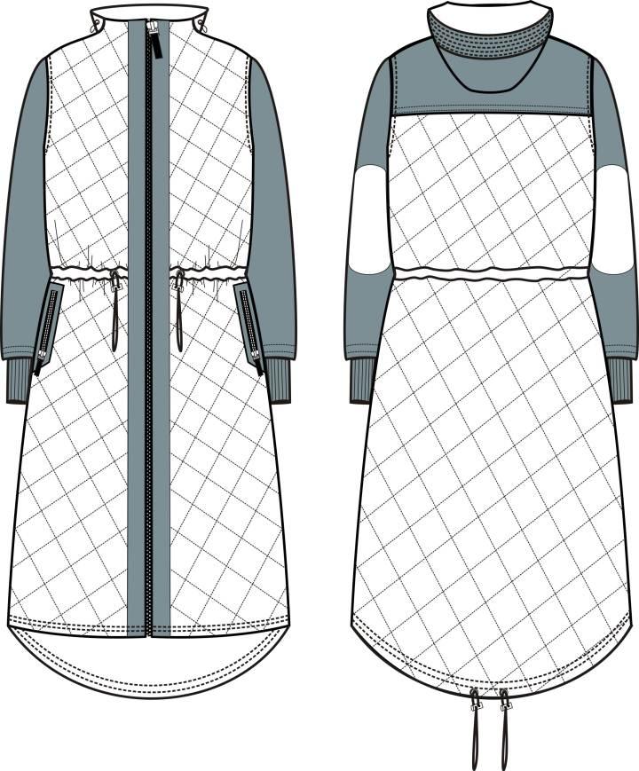 外套款式图2