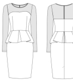 OL裙子款式图3
