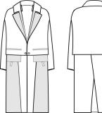 大衣款式图4