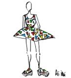 三角迷幻:连衣裙