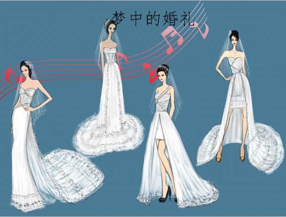 梦中的婚礼作品-梦中的婚礼款式图