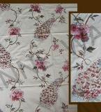 孔雀缠枝花