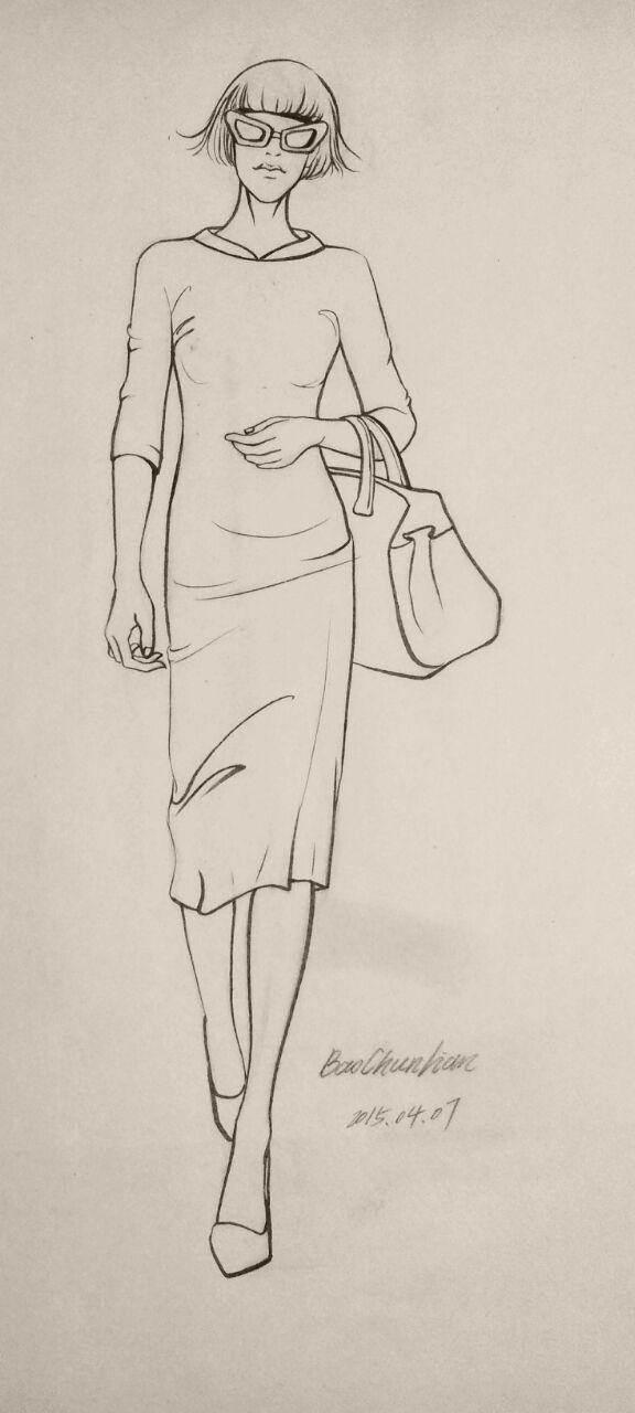 铅笔银杏叶的画法步骤