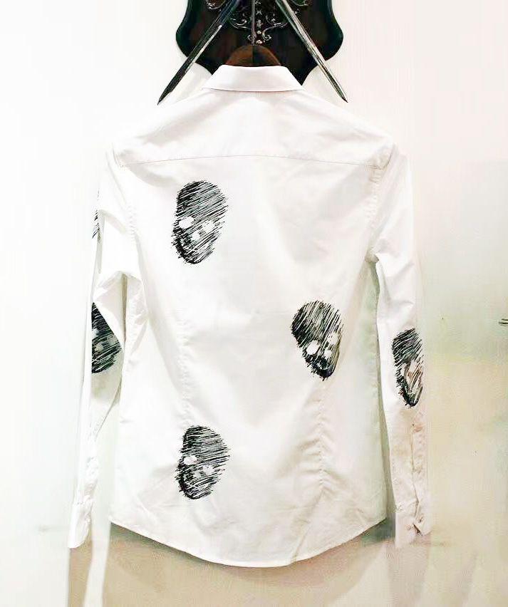 衬衫印花夹克绣花