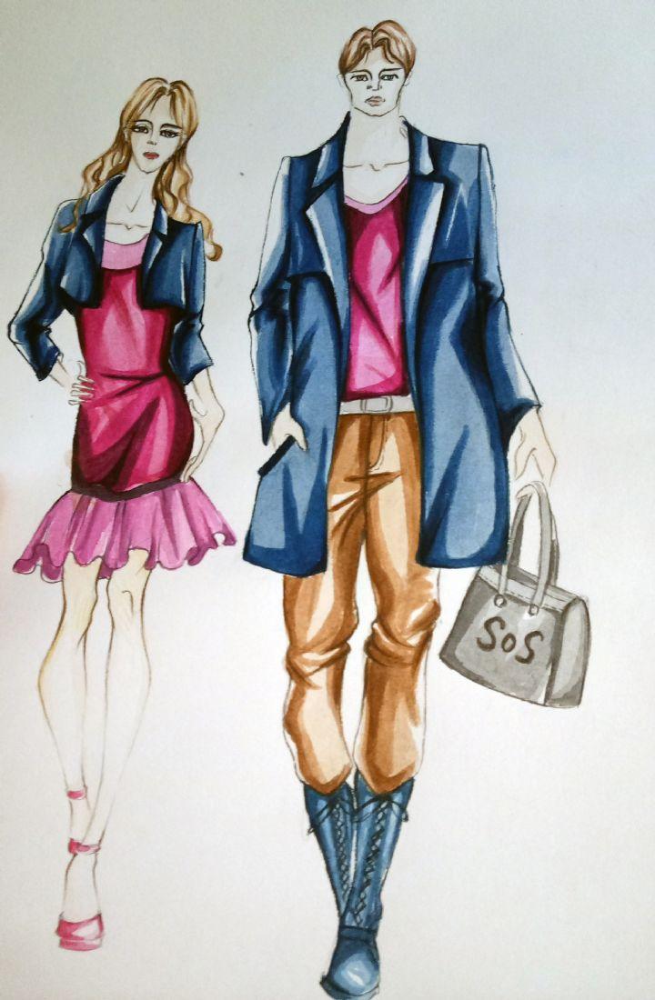 休闲装-其它设计设计-服装设计