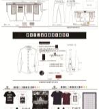裤装、衬衫、T恤
