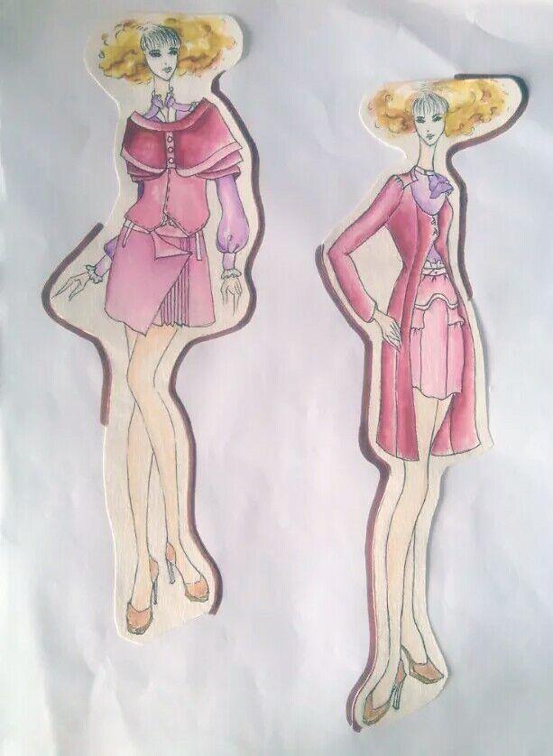 女装时装设计职业套装