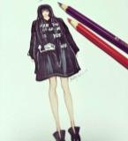 Saty黑大衣