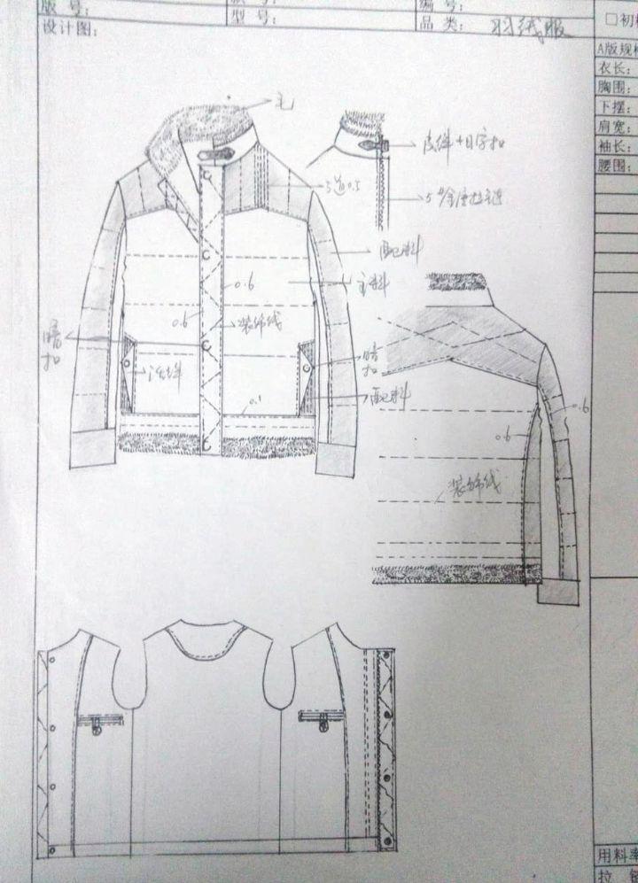 男装款式图,效果图作品-男装款式图,效果图款式图