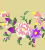 恋香-窗帘帘头绣花