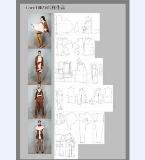 服装制版-服装工艺-针织等作品