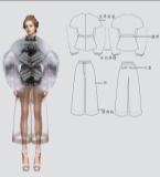 第20届真皮标志杯中国国际皮革裘皮服装设计大赛  优秀效果图奖