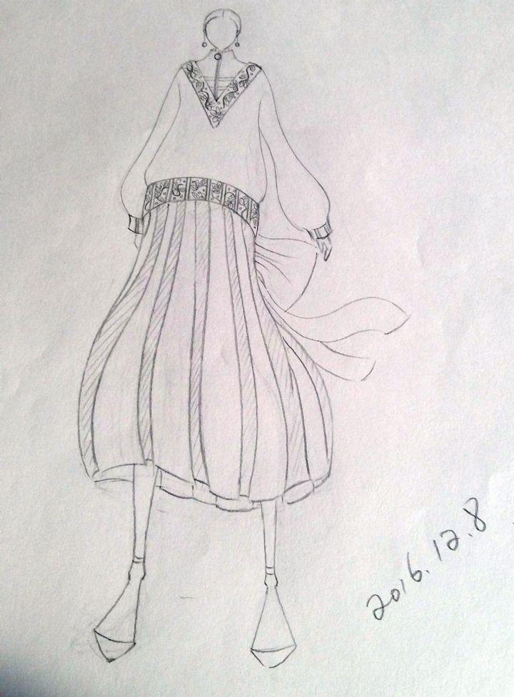 女装时装日常作品