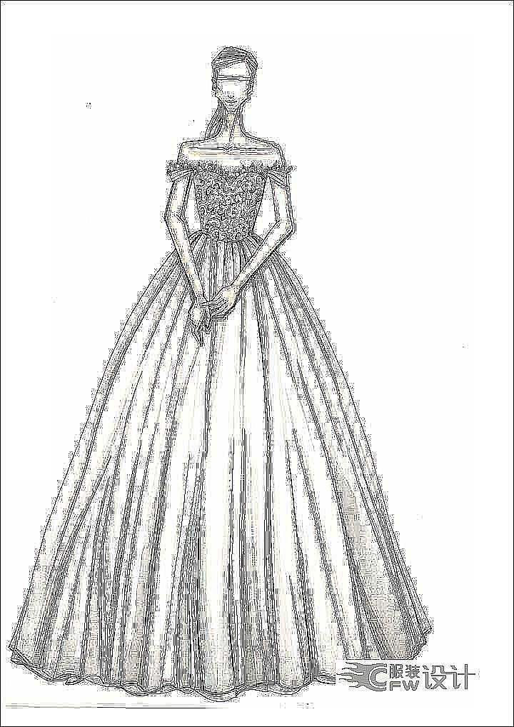 婚纱设计-婚纱礼服设计-服装设计