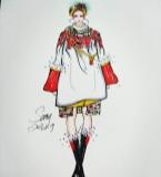 saty原创新春特辑系列之口红包时装