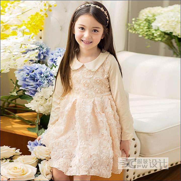 花裙作品-花裙款式图