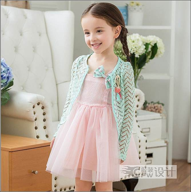 连衣裙作品-连衣裙款式图