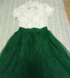 夏季欧根纱套装设计制作