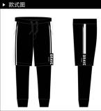 线条设计潮裤
