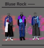 Bluse Rock