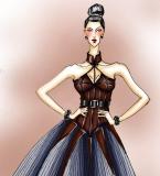 哥特风格的女装设计