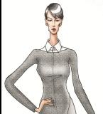现代都市风格女装设计
