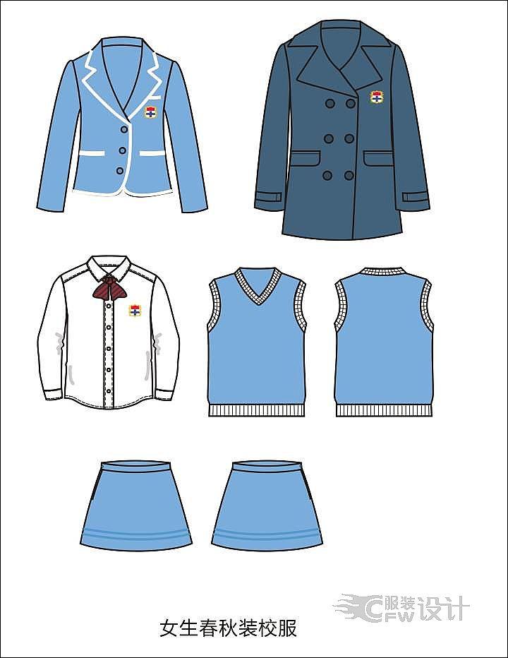 贵族幼儿园校服-童装设计-服装设计