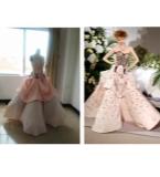 Dior 立体裁剪模仿