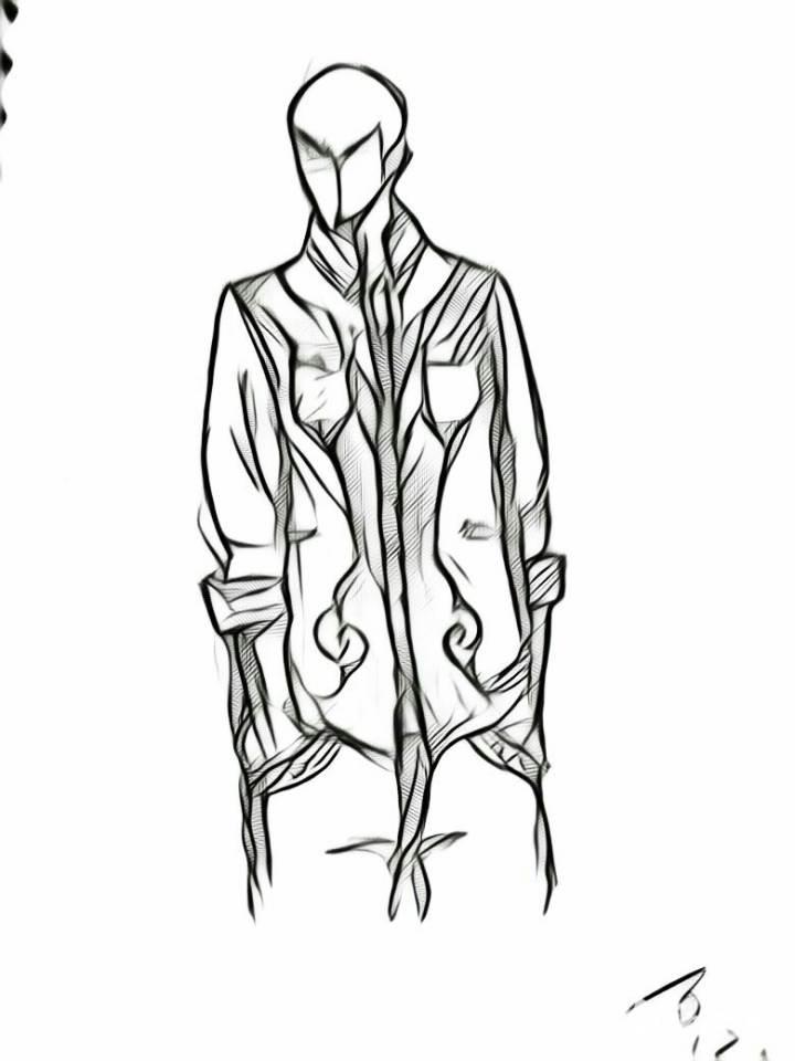 蒙古風外套夾克-男裝設計-服裝設計
