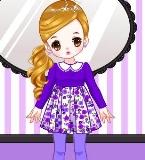 可爱的紫色