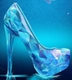 破碎的玻璃鞋