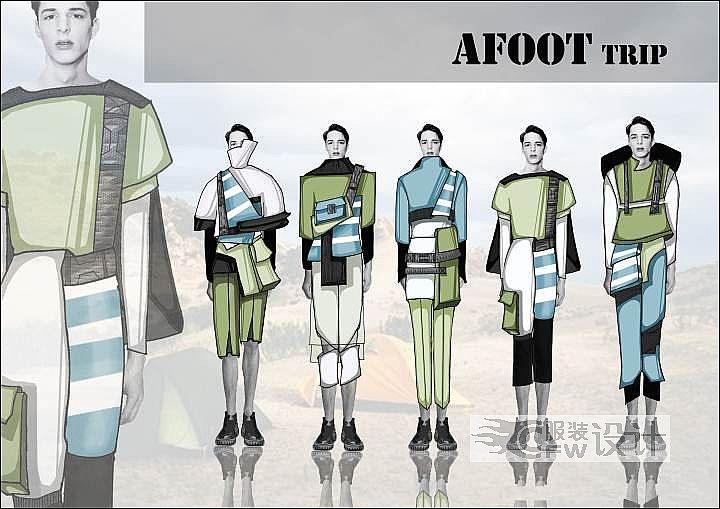 AFOOT Trip作品-AFOOT Trip款式图