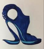 创意鞋跟高跟鞋
