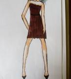 时装手绘临摹2