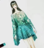 星光连衣裙