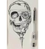 骷髅图案设计3