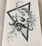 骷髅图案设计2
